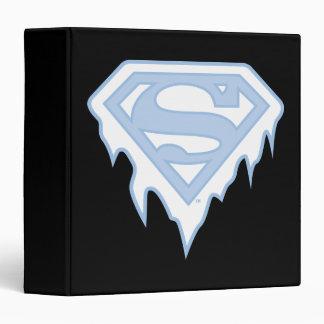Supergirl Blue Logo Binder
