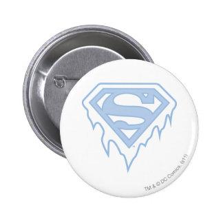 Supergirl Blue Logo Buttons