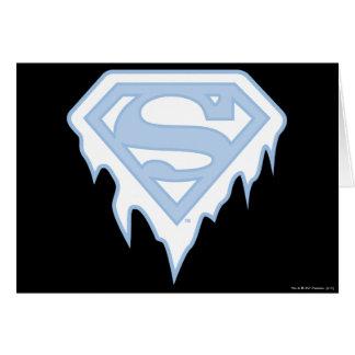 Supergirl Blue Logo Card