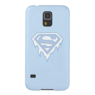 Supergirl Blue Logo Galaxy S5 Cases