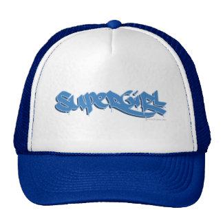 Supergirl Blue Logo Mesh Hat