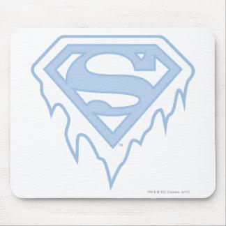 Supergirl Blue Logo Mouse Pad