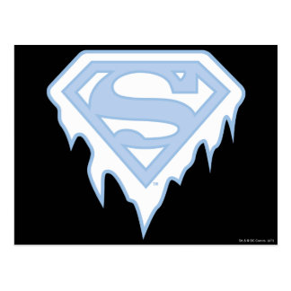 Supergirl Blue Logo Postcard