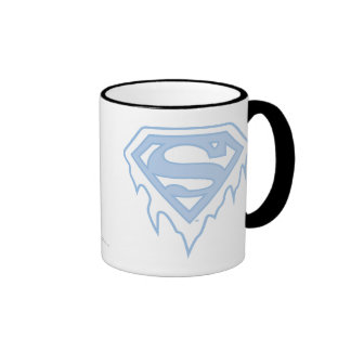 Supergirl Blue Logo Ringer Mug