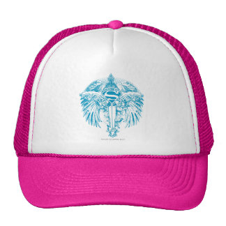 Supergirl Blue Wings Hats