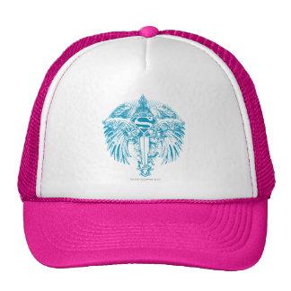 Supergirl Blue Wings Trucker Hat