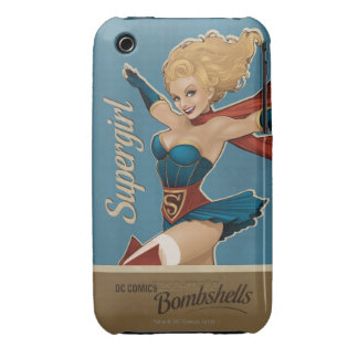 Supergirl Bombshell Case-Mate iPhone 3 Case