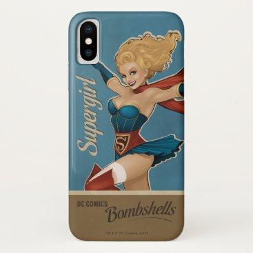 Supergirl Bombshell iPhone X Case