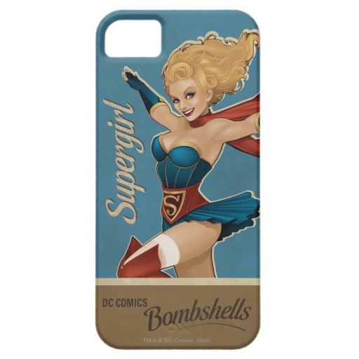 Supergirl Bombshell iPhone SE/5/5s Case