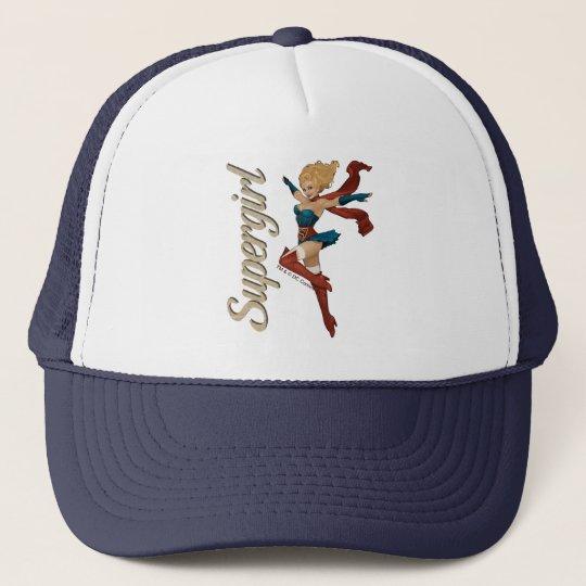 Supergirl Bombshell Trucker Hat
