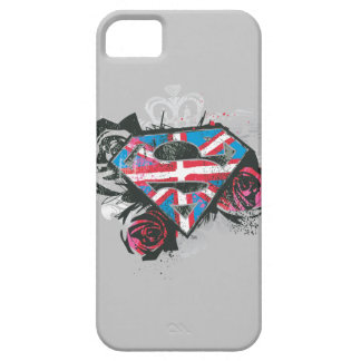 Supergirl British Flag and Roses iPhone SE/5/5s Case