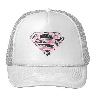 Supergirl Camouflage Logo Hats