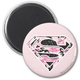 Supergirl Camouflage Logo Fridge Magnets