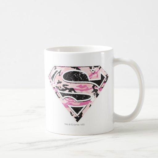 Supergirl Camouflage Logo Mugs