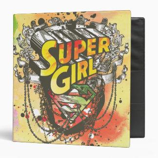 Supergirl Chains Binder