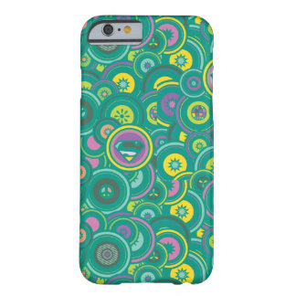 Supergirl Circle Green Pattern Barely There iPhone 6 Case