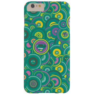 Supergirl Circle Green Pattern Barely There iPhone 6 Plus Case