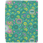 Supergirl Circle Green Pattern iPad Cover
