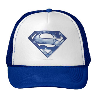 Supergirl Cloud Logo Mesh Hats