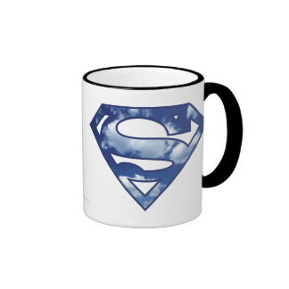 Supergirl Cloud Logo Ringer Mug