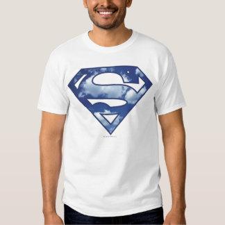 Supergirl Cloud Logo Shirt