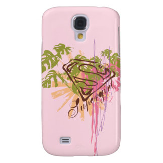 Supergirl Color Splash Galaxy S4 Case