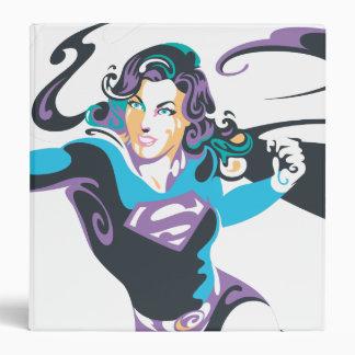 Supergirl Color Splash Pose 4 Binder