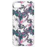 Supergirl Color Splash Swirls Pattern 3 iPhone SE/5/5s Case