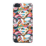 Supergirl Color Splash Swirls Pattern 4 iPod Touch (5th Generation) Cases