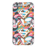 Supergirl Color Splash Swirls Pattern 4 Barely There iPhone 6 Case