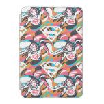 Supergirl Color Splash Swirls Pattern 4 iPad Mini Cover