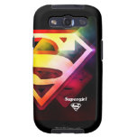 Supergirl Colorful Logo Galaxy S3 Covers