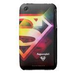 Supergirl Colorful Logo iPhone 3 Case-Mate Case