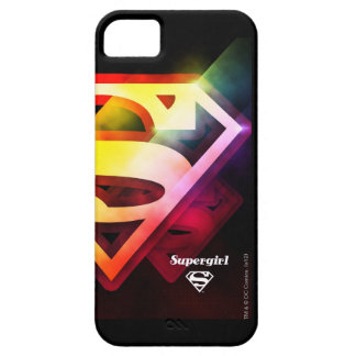 Supergirl Colorful Logo iPhone SE/5/5s Case