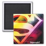 Supergirl Colorful Logo Magnet
