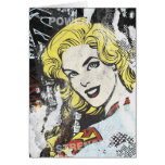 Supergirl Comic Capers 1 Greeting Cards