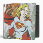 Supergirl Comic Capers 2 3 Ring Binder
