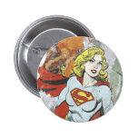 Supergirl Comic Capers 2 Pins