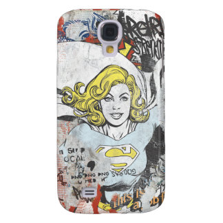 Supergirl Comic Capers 3 Samsung Galaxy S4 Case