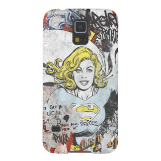 Supergirl Comic Capers 3 Galaxy S5 Case