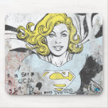 Supergirl Comic Capers 3 Mouse Pad