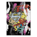 Supergirl Comic Capers 4 Greeting Card