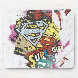 Supergirl Comic Capers 4 Mouse Pad