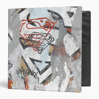 Supergirl Comic Capers Pattern 1 Vinyl Binder