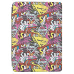Supergirl Comic Capers Pattern 4 iPad Air Cover