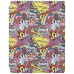 Supergirl Comic Capers Pattern 4 iPad Cover