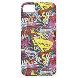 Supergirl Comic Capers Pattern 4 iPhone 5 Cover