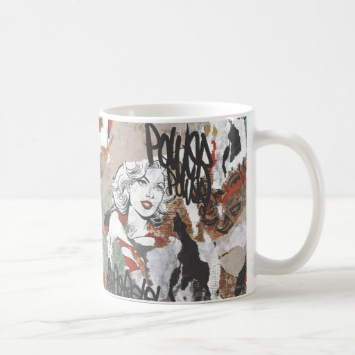 Supergirl Comic Capers Pattern 6 Coffee Mug