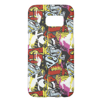 Supergirl Comic Capers Pattern 7 Samsung Galaxy S7 Case