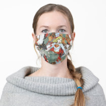 Supergirl Comic Capers Pattern 8 Adult Cloth Face Mask
